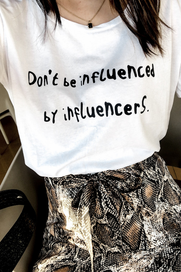 T-SHIRT #INFLUENCER 2