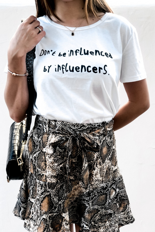 T-SHIRT #INFLUENCER 1