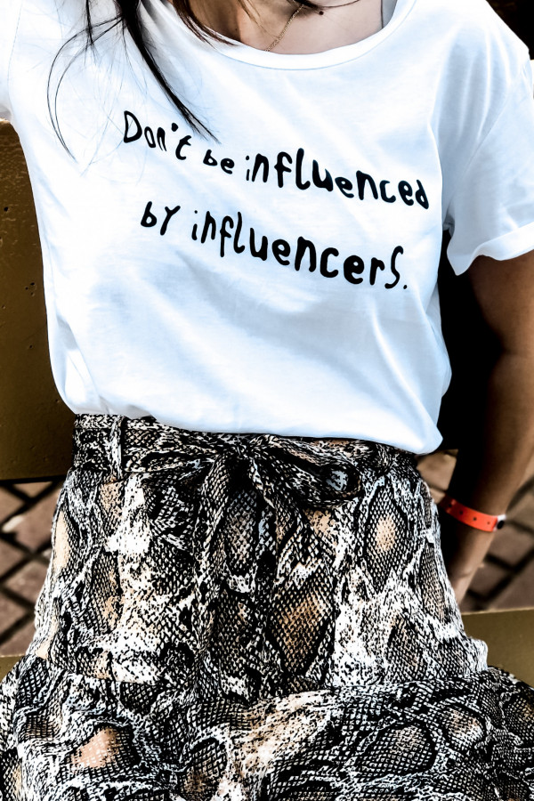 T-SHIRT #INFLUENCER 4