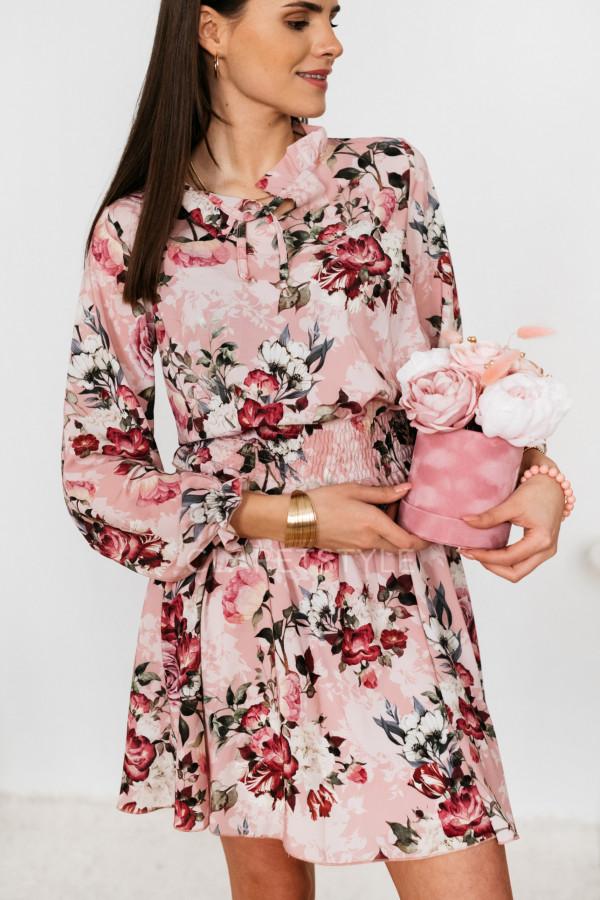 SUKIENKA FLOWERS ROSE