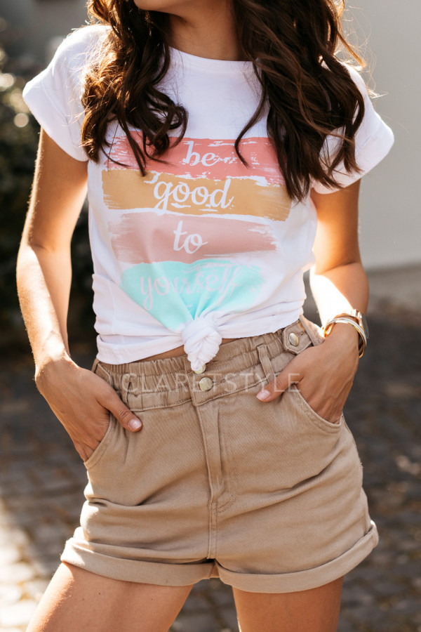 T-SHIRT BE GOOD TO YOURSELF 1