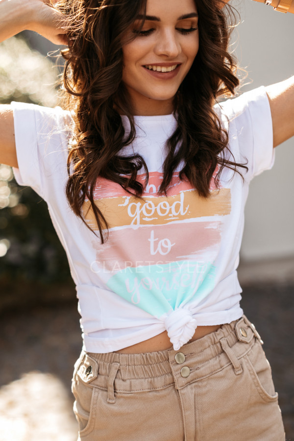 T-SHIRT BE GOOD TO YOURSELF 2