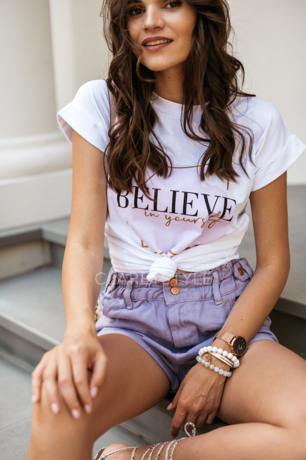 T-SHIRT BELIEVE IN YOURSELF 2