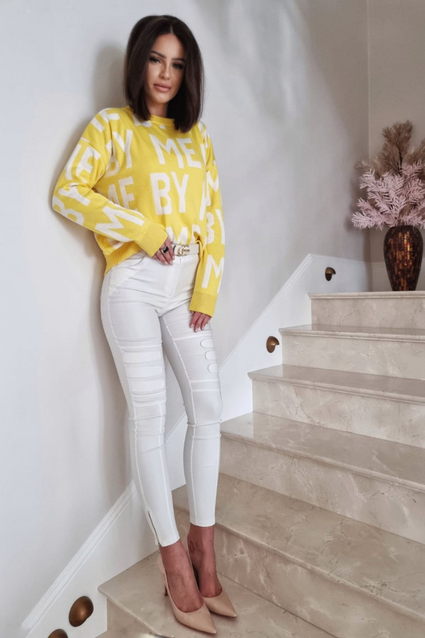 SWETER YELLOW BY ME 3